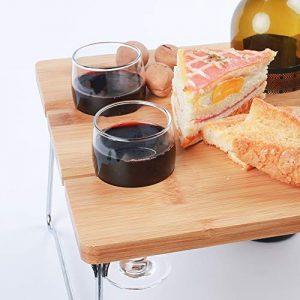 Innostage Pique-Nique Table en Bambou